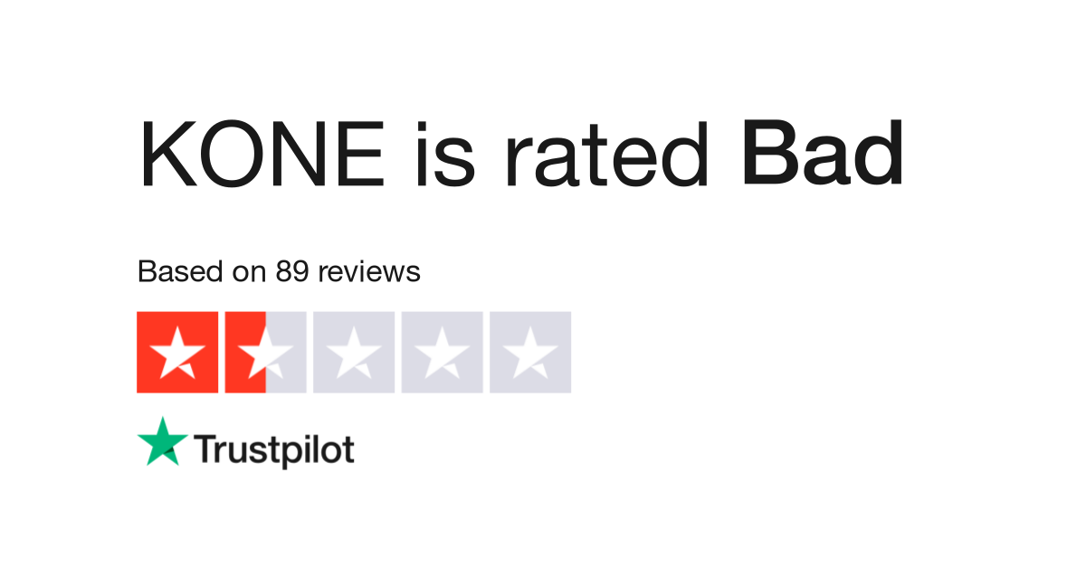 KONE Reviews | Read Customer Service Reviews of kone com