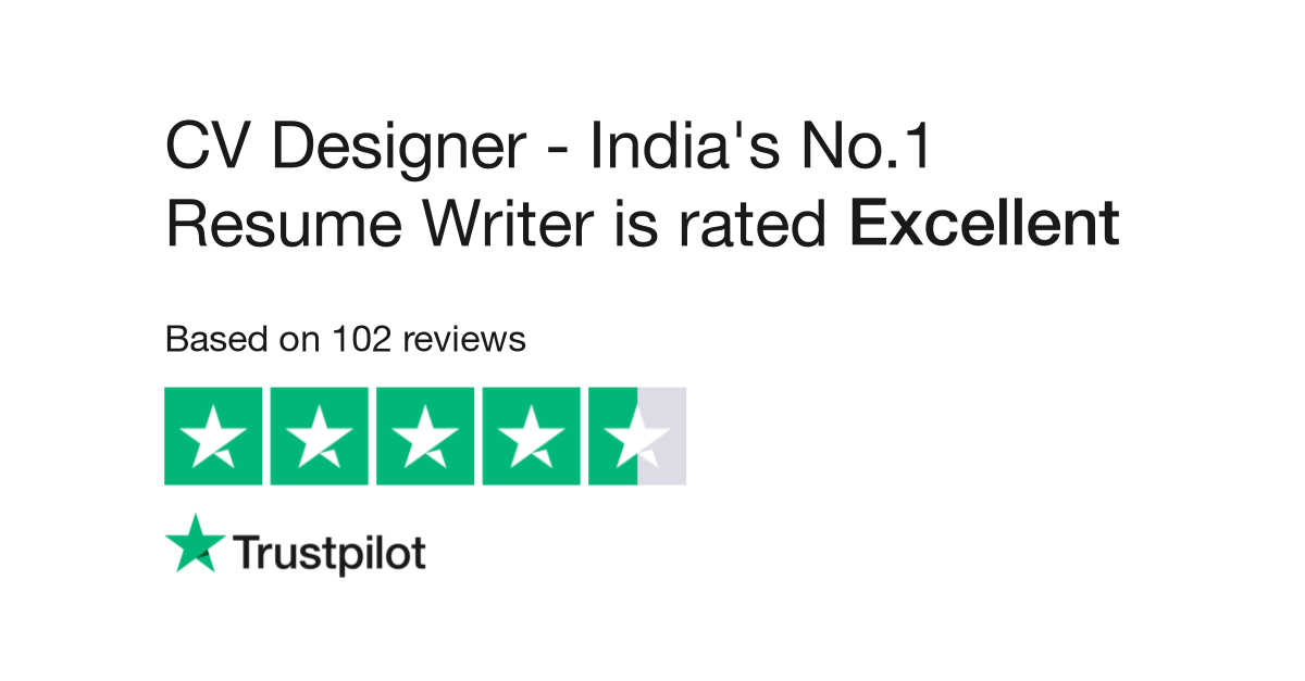 Cv Designer India S No 1 Resume Writer Reviews Read Customer