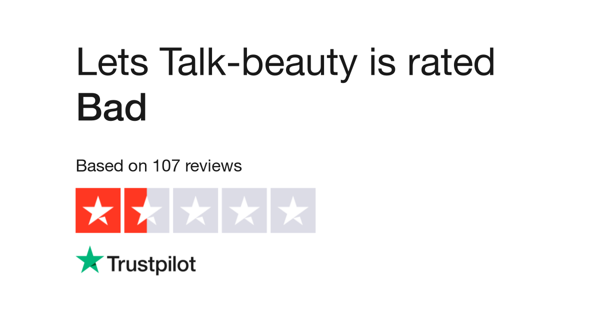 Lets Talk-beauty Reviews | Read Customer Service Reviews of