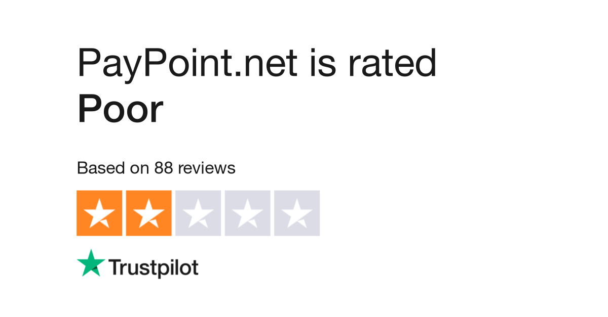 PayPoint net Reviews   Read Customer Service Reviews of