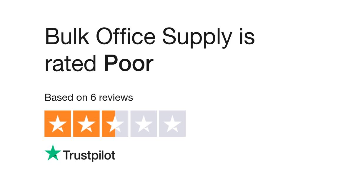Bulk Office Supply Reviews Read