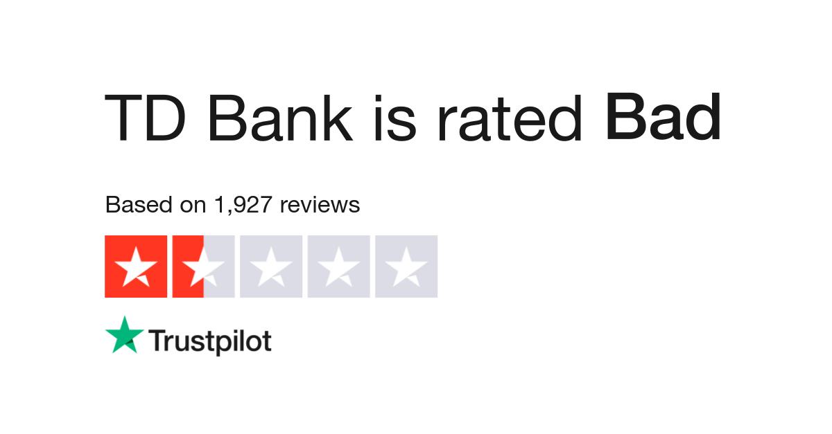 TD Bank Reviews | Read Customer Service Reviews of tdbank ca