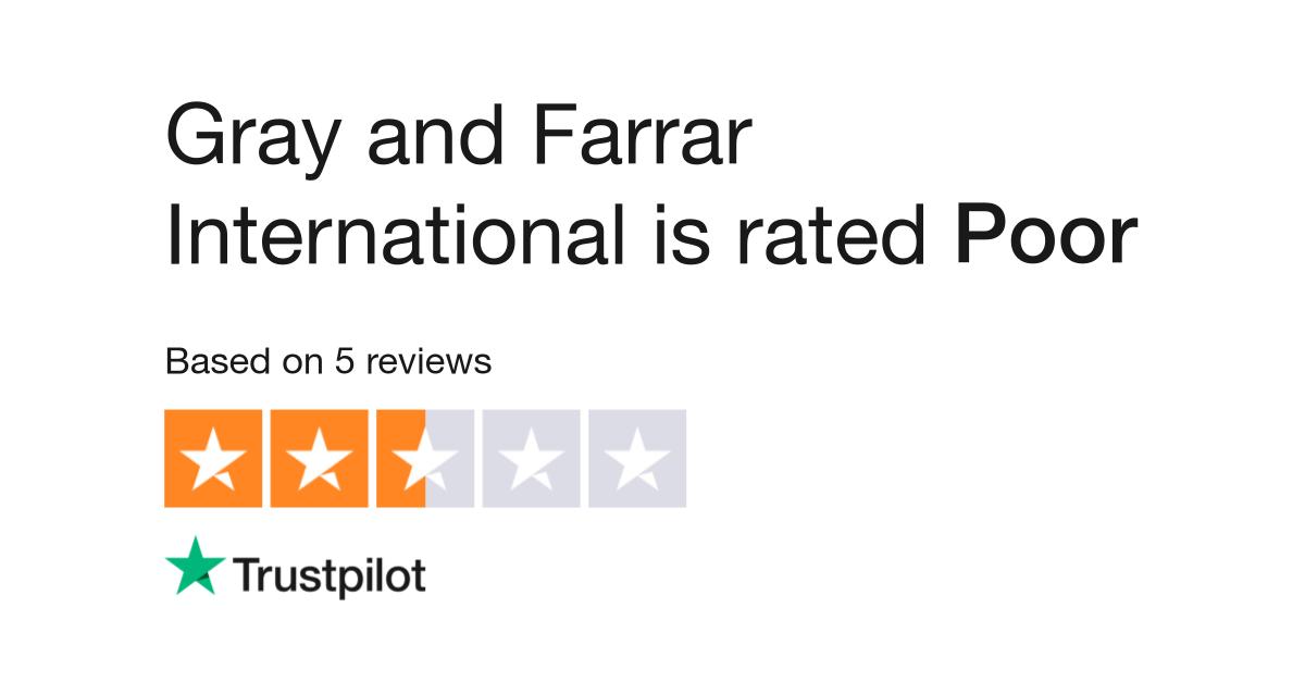 gray and farrar dating reviews