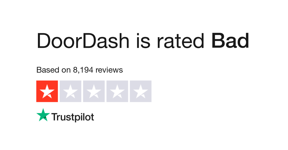 DoorDash Reviews   Read Customer Service Reviews of doordash com