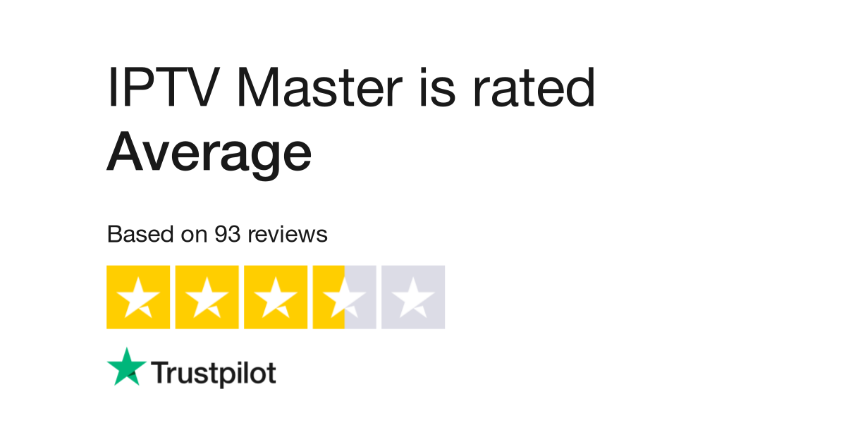 IPTV Master Reviews | Read Customer Service Reviews of iptv-master net