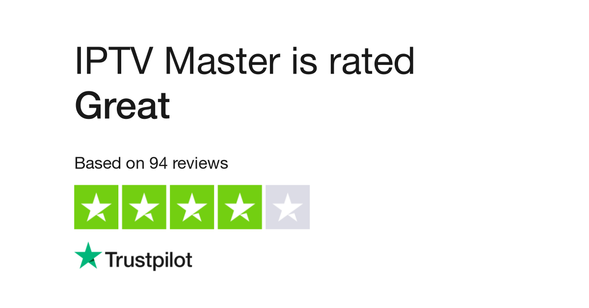 IPTV Master Reviews | Read Customer Service Reviews of iptv