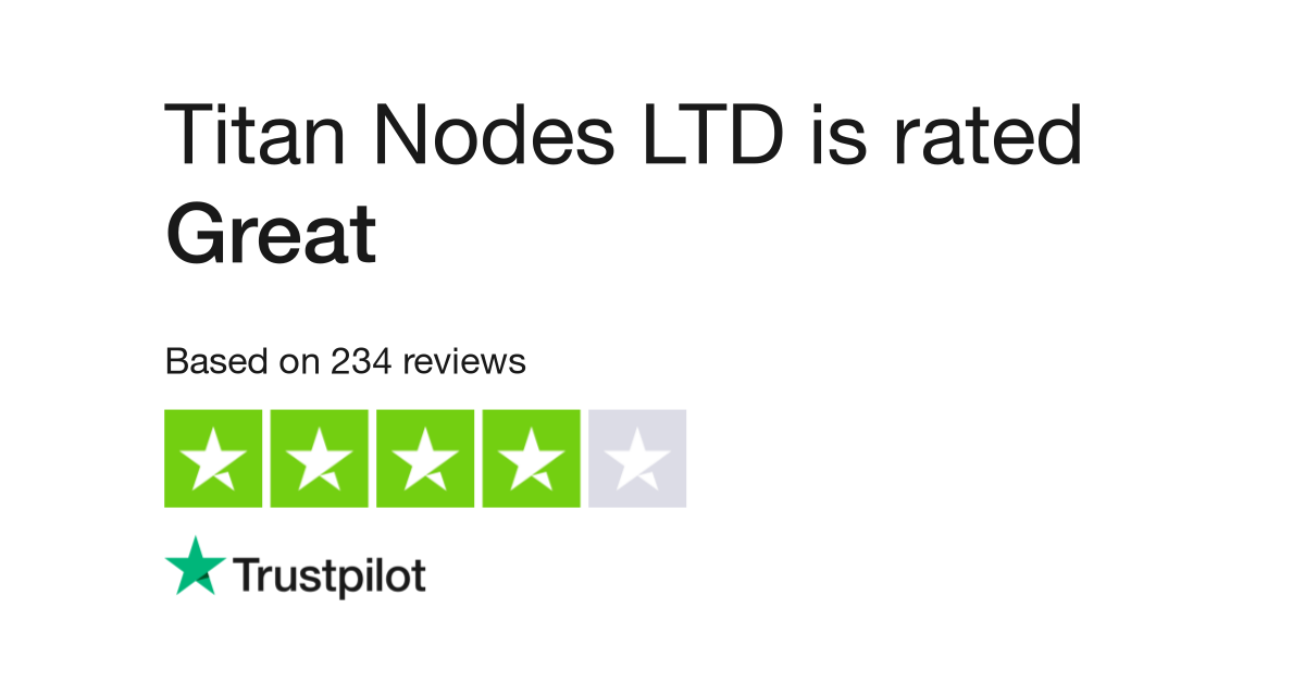 Titan Nodes LTD Reviews | Read Customer Service Reviews of