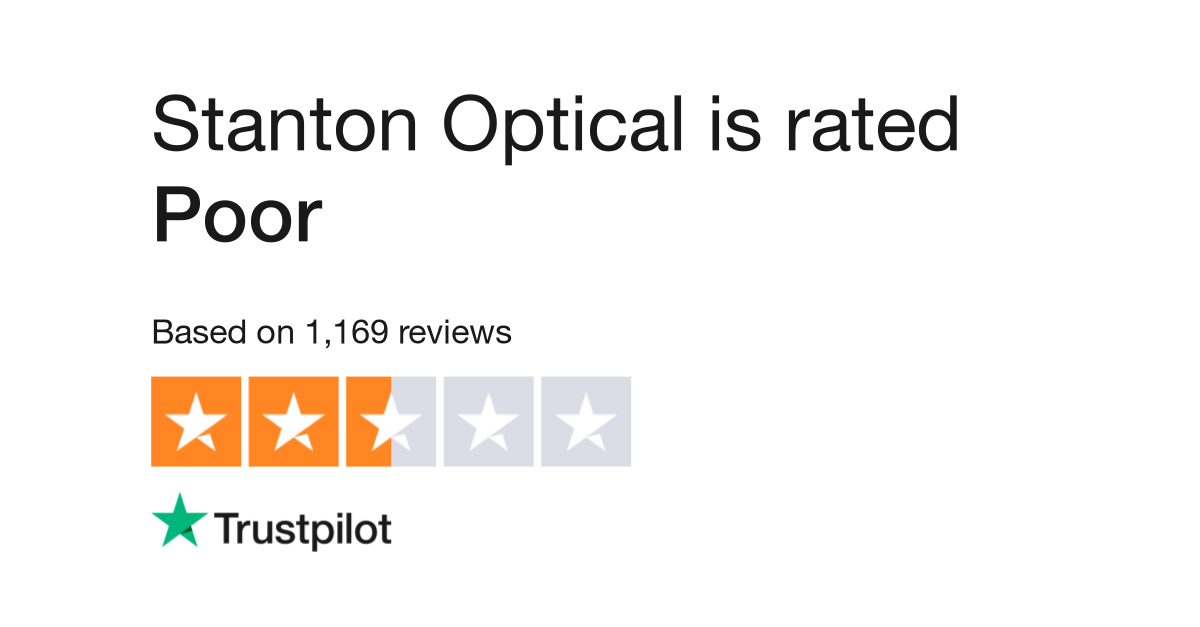 Stanton Optical Reviews | Read Customer Service Reviews of