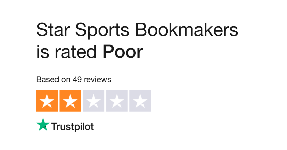 Star Sports Bookmakers Reviews   Read Customer Service