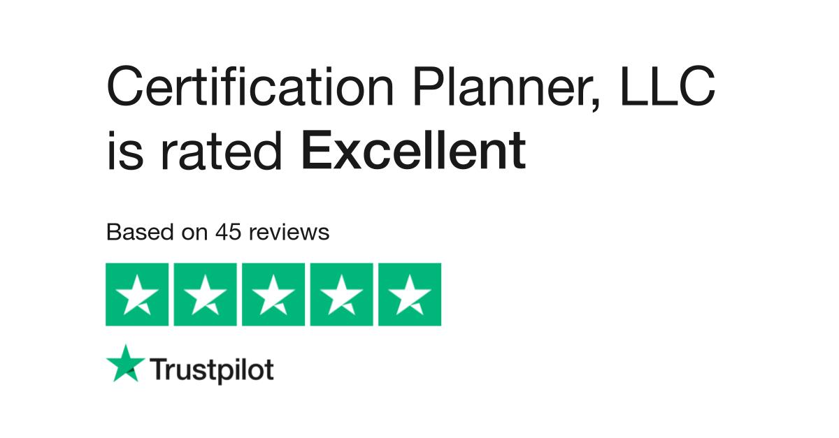 Certification Planner Llc Reviews Read Customer Service Reviews