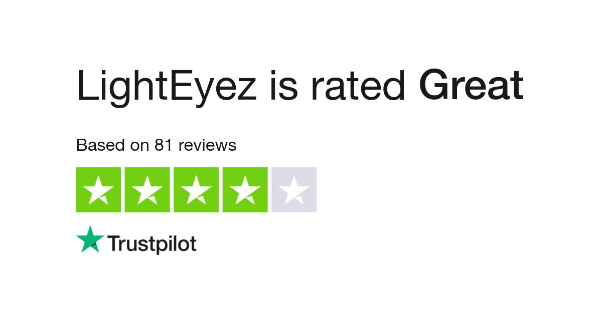 LightEyez Reviews | Read Customer Service Reviews of www lighteyez com