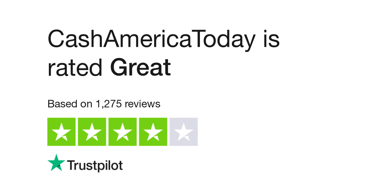 Cash America Today Reviews