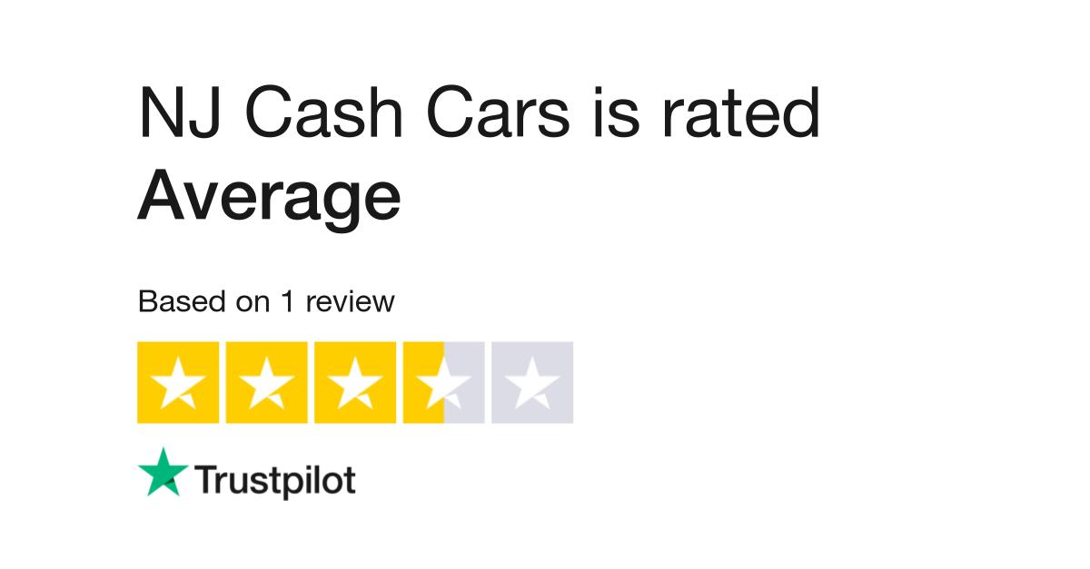 Nj Cash Cars Reviews Read Customer Service Reviews Of Www