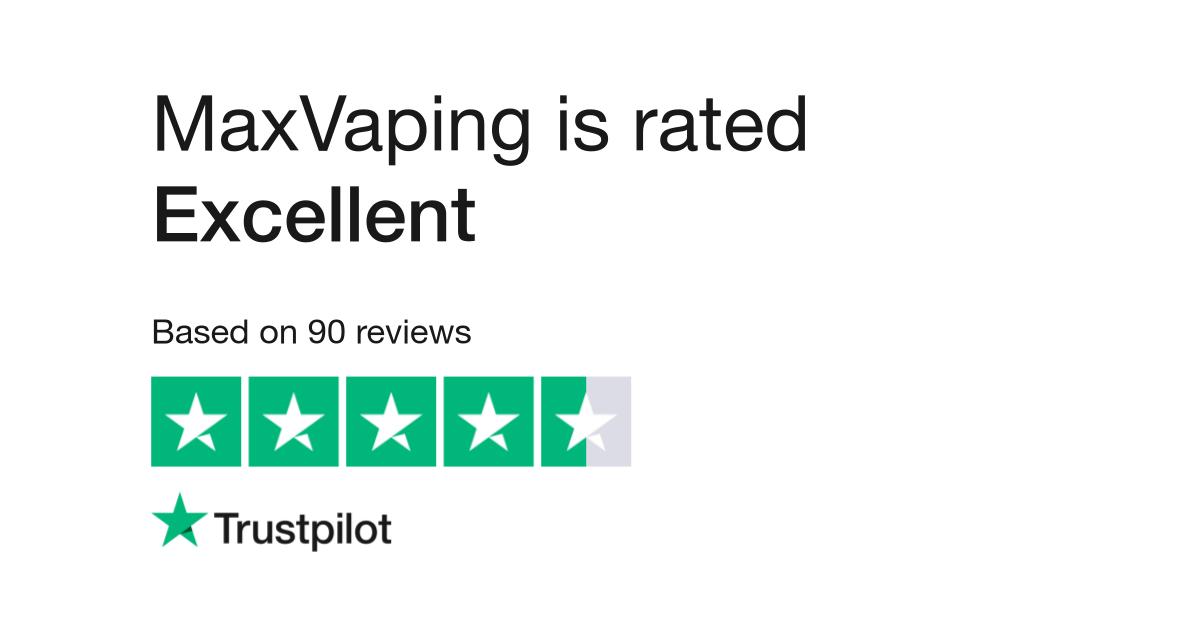 MaxVaping Reviews | Read Customer Service Reviews of