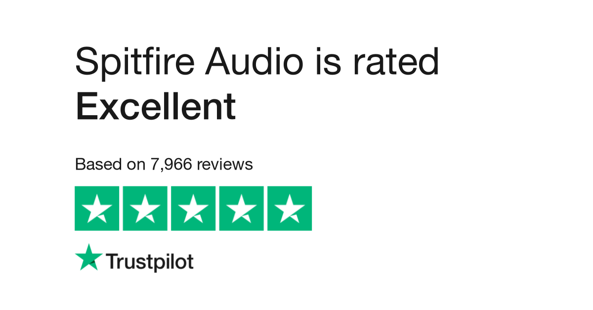 Spitfire Audio Reviews | Read Customer Service Reviews of