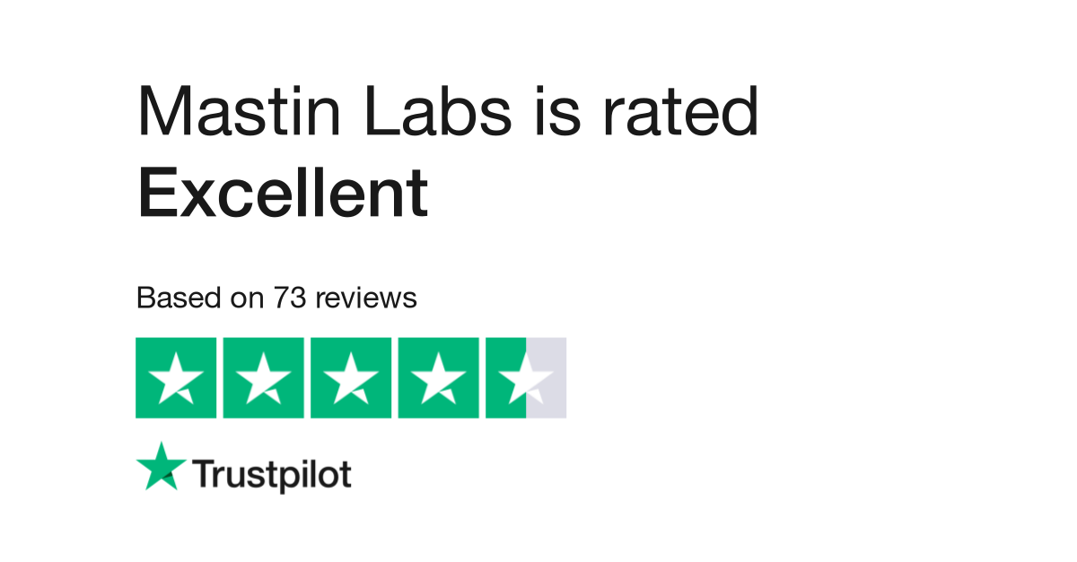Mastin Labs Reviews | Read Customer Service Reviews of
