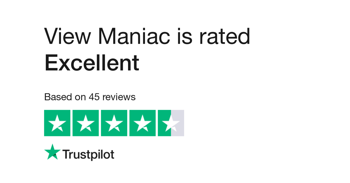 View Maniac Reviews   Read Customer Service Reviews of