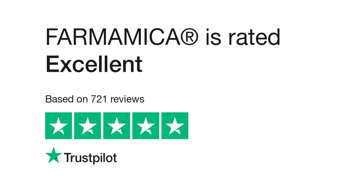 trustpilot reviews for farmamica image