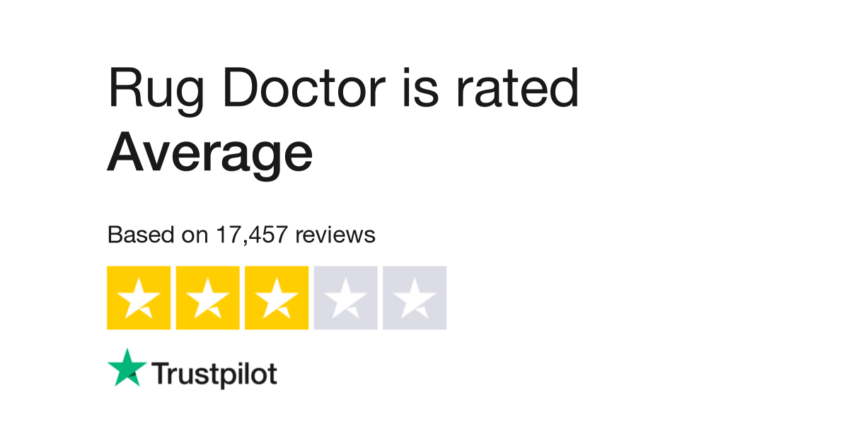 Rug Doctor Reviews Read Customer