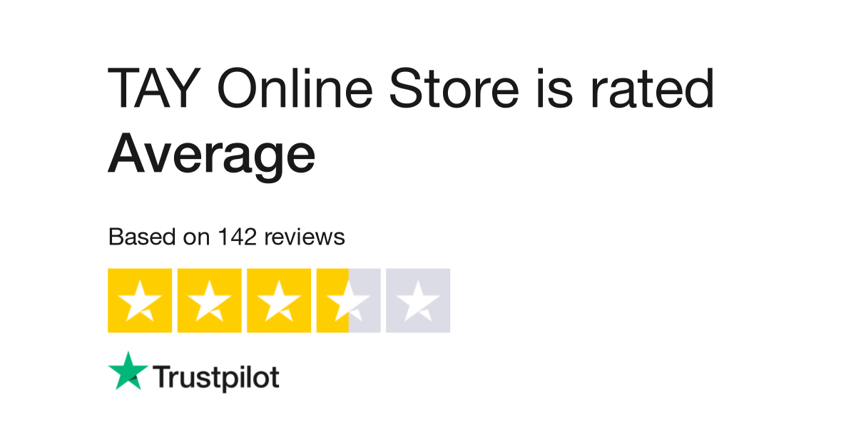 TAY Online Store Reviews | Read Customer Service Reviews of www