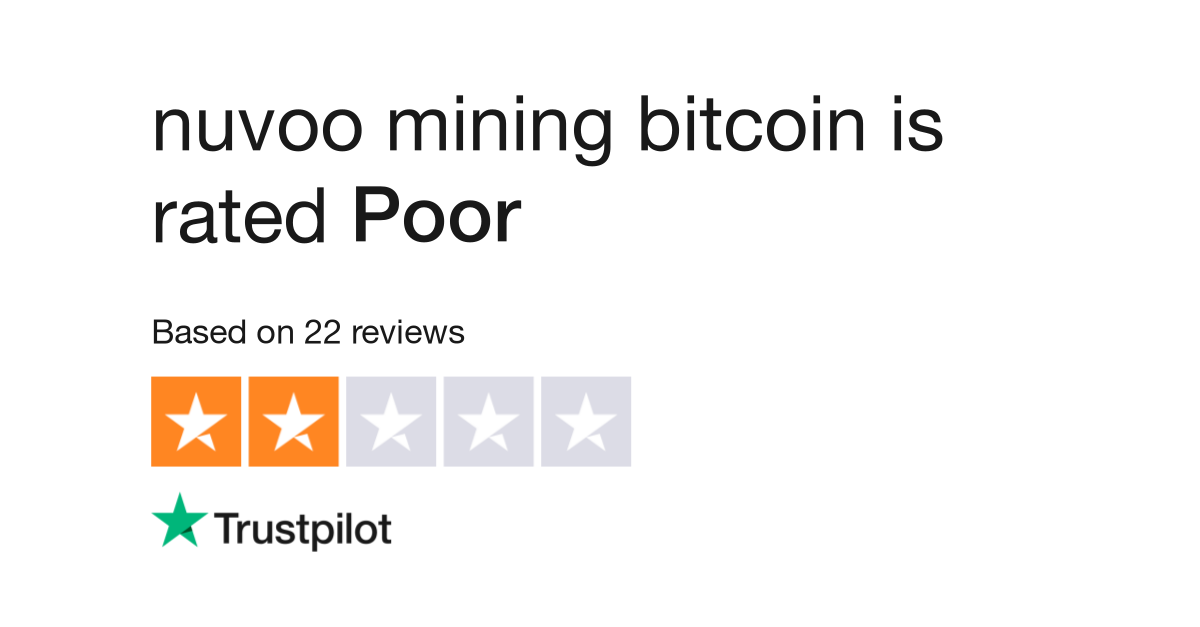nuvoo mining bitcoin Reviews | Read Customer Service Reviews of nuvoo io