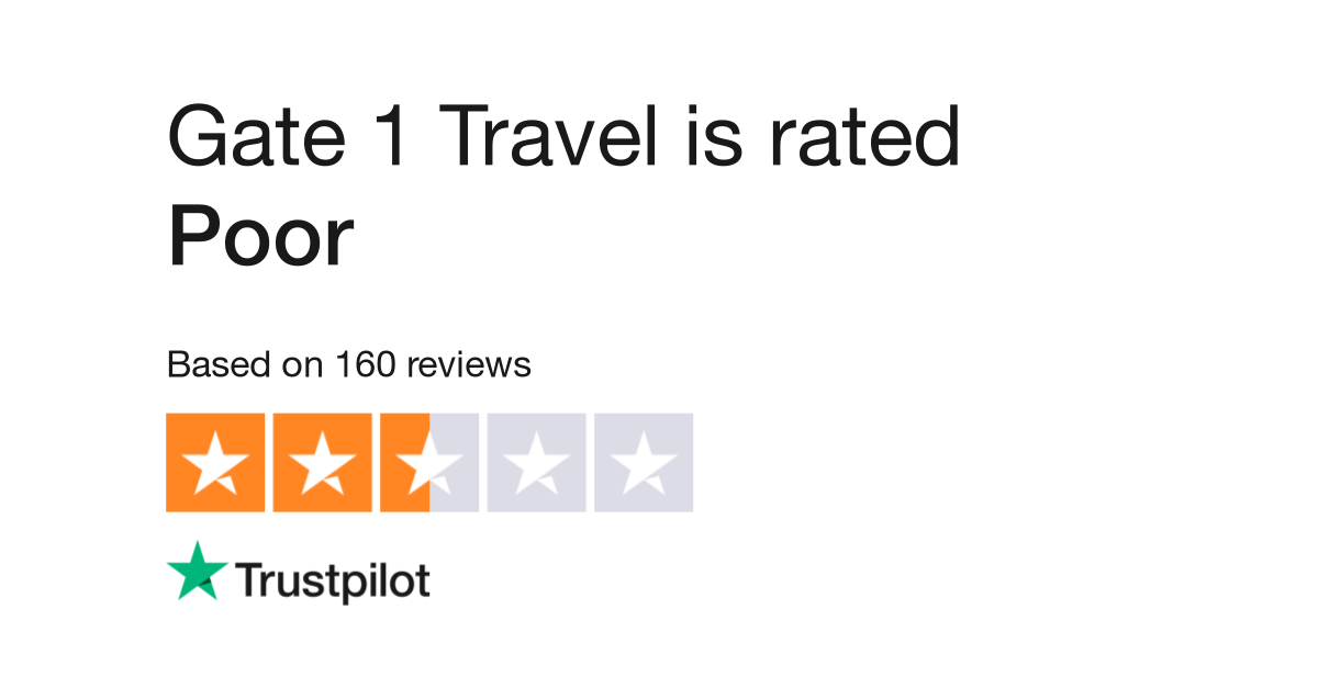 Gate 1 Travel Reviews Read Customer Service Reviews Of