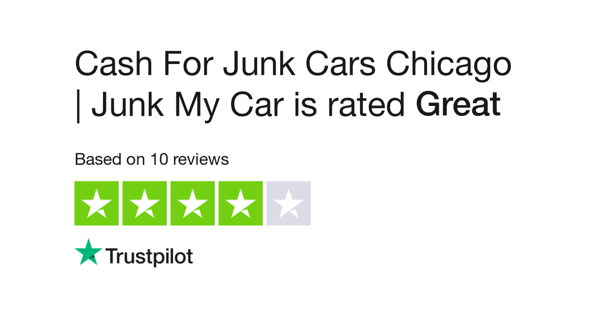 Cash For Junk Cars Chicago Junk My Car Reviews Read Customer