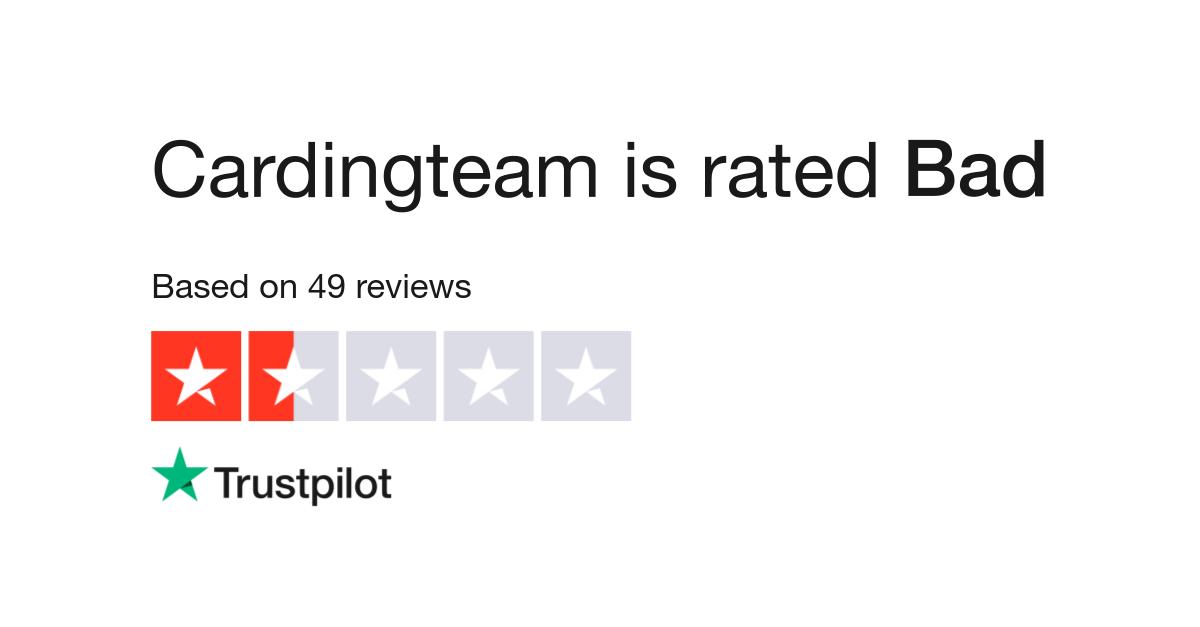 Cardingteam Reviews | Read Customer Service Reviews of
