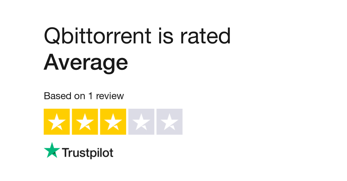 Qbittorrent Reviews | Read Customer Service Reviews of