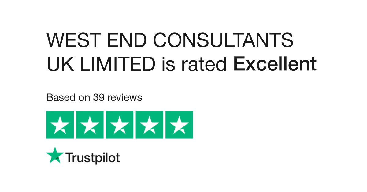 WEST END CONSULTANTS UK LIMITED Reviews | Read Customer