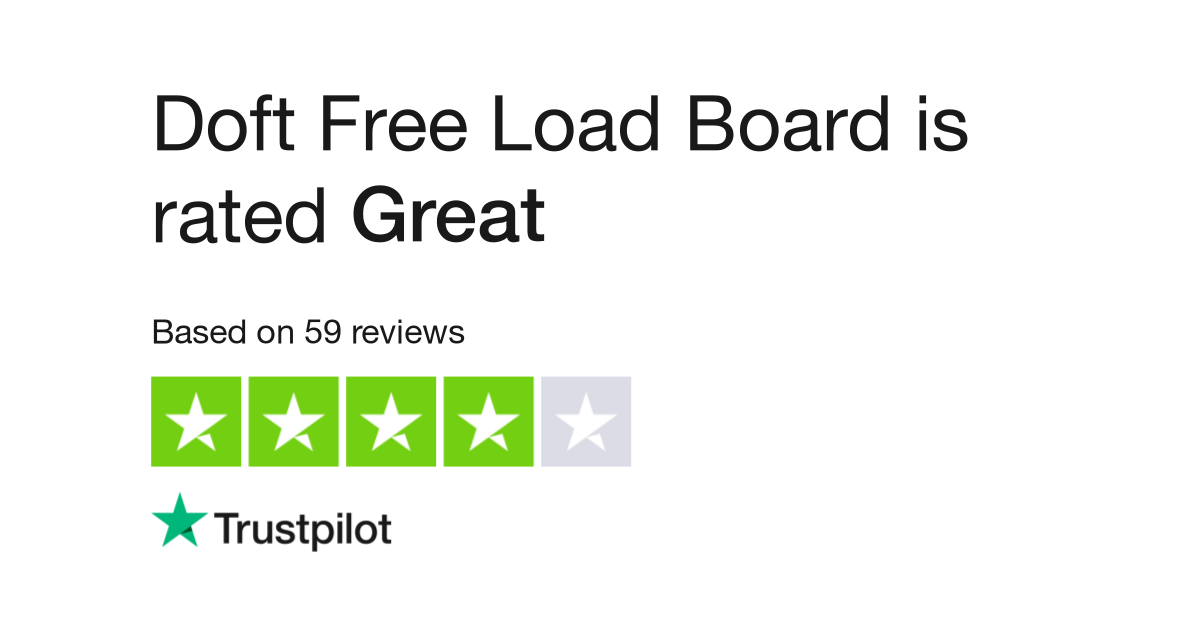 Doft Free Load Board Reviews   Read Customer Service Reviews