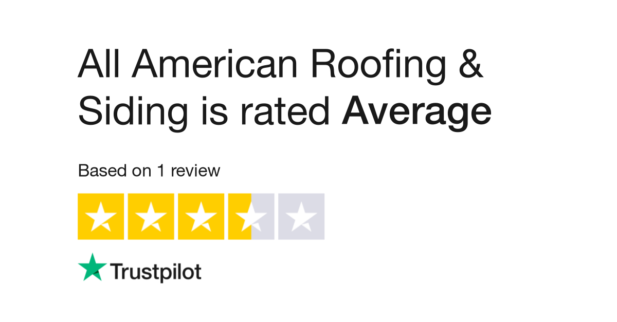 All American Roofing Siding Reviews Read Customer Service Reviews Of Allamericanroof Net