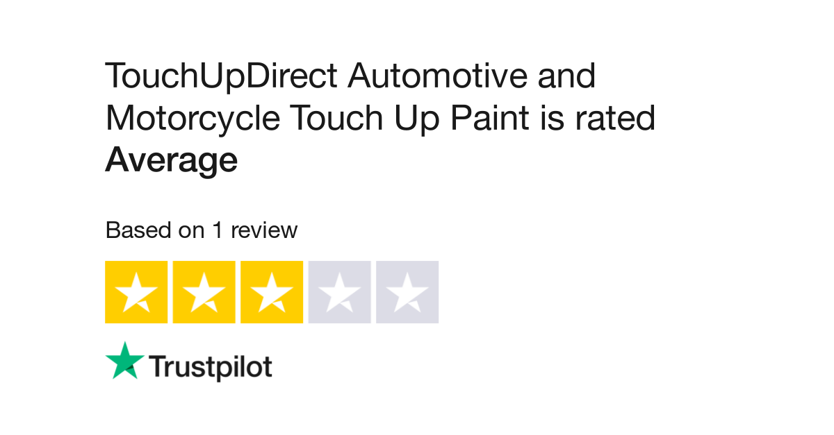 TouchUpDirect Automotive and Motorcycle Touch Up Paint