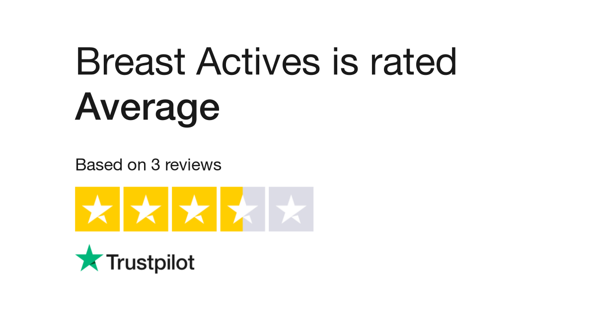 Breast Actives Reviews Read Customer Service Reviews Of Breast