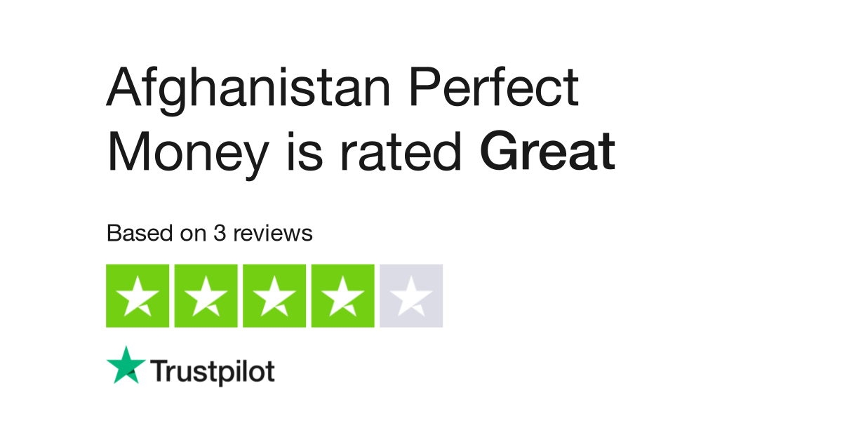 Afghanistan Perfect Money Reviews | Read Customer Service Reviews of  perfectmoney.af