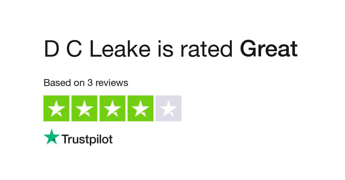D C Leake Reviews Read Customer Service Reviews Of Www Dcleakejewellers Co Uk