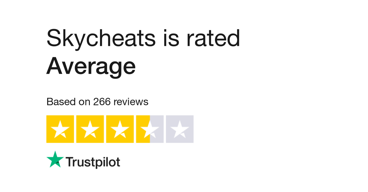 """Skycheats is rated """"Great"""" with 4.0 - Download Skycheats is rated """"Great"""" with 4.0 for FREE - Free Cheats for Games"""