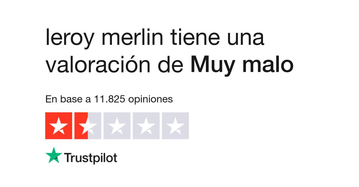 Leroy Merlin Sevilla Banos.Opiniones De Leroy Merlin Lea Opiniones De Clientes De Www