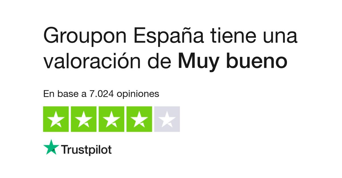 f9c9f06e1794 Opiniones de Groupon España