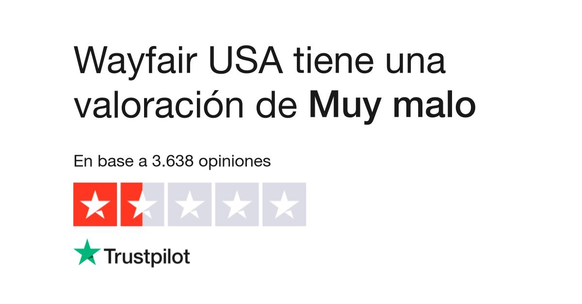 Opiniones de Wayfair USA | Lea opiniones de clientes de wayfair.com