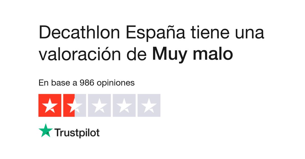 0118f5a3b Opiniones de Decathlon España