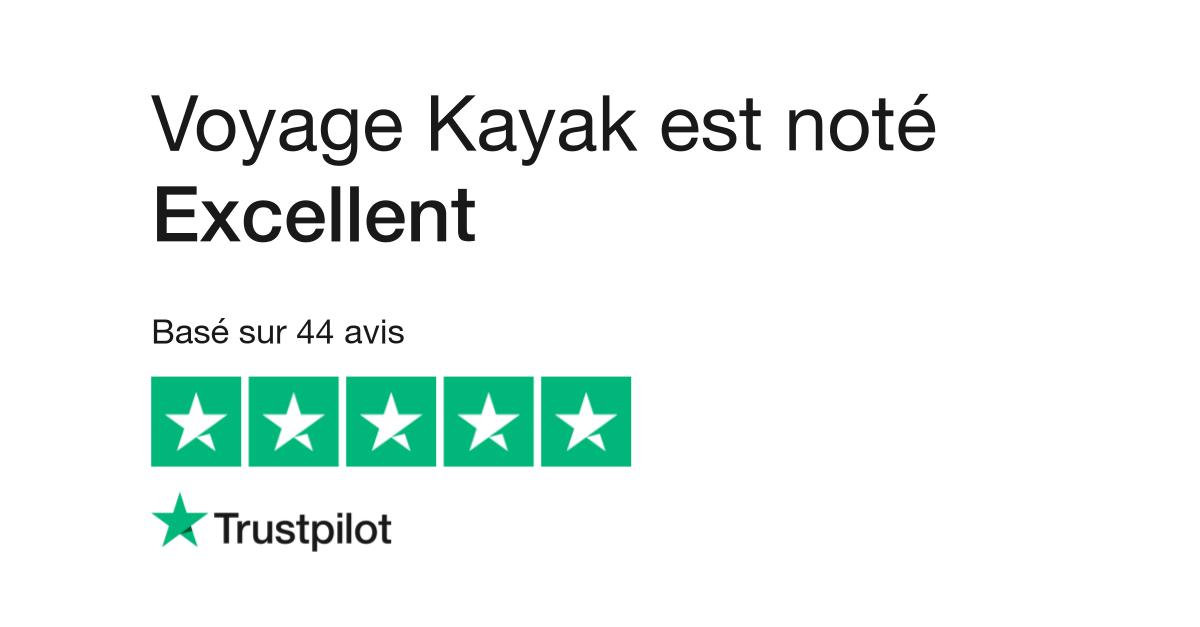 Trust Pilot Voyage Kayak. Retrouvez les avis de nos clients.