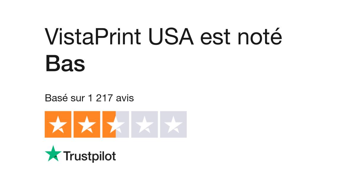 Avis De Vistaprint