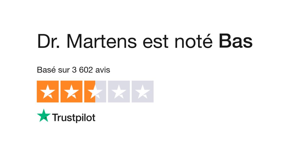3b92357ed3a Avis de Dr. Martens