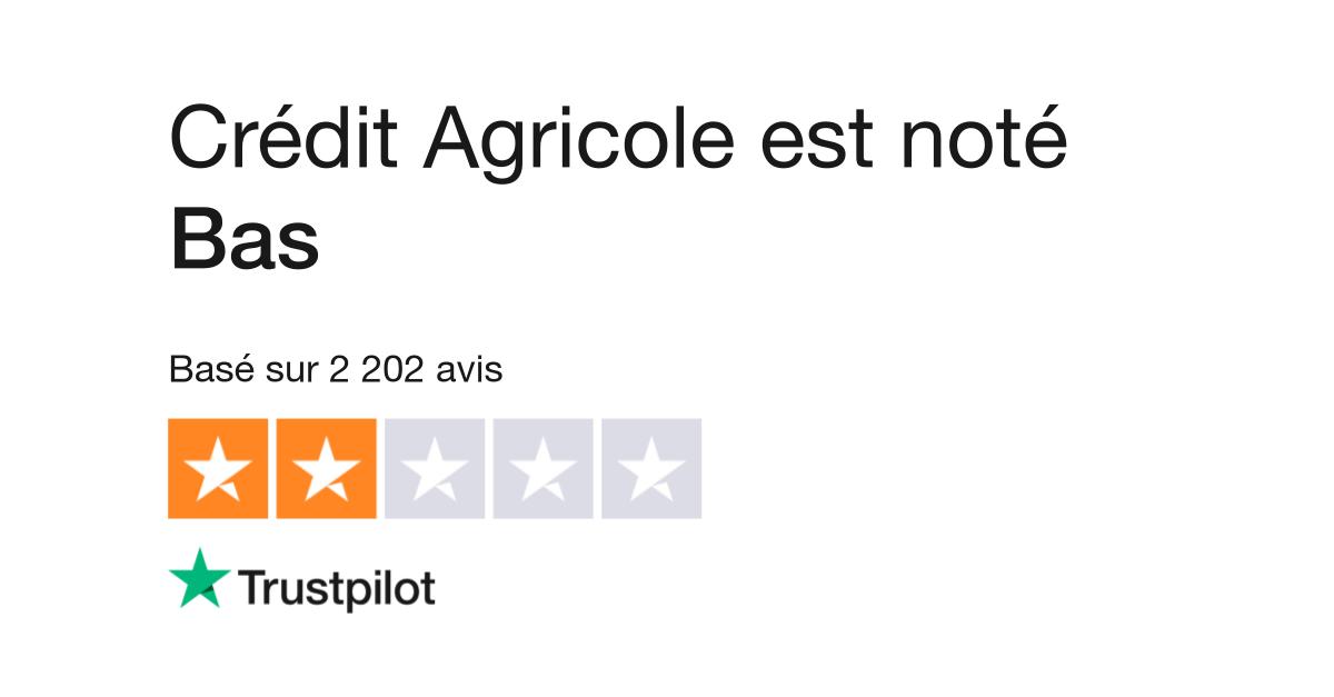 Avis De Credit Agricole Lisez Les Avis Clients De Credit Agricole Fr