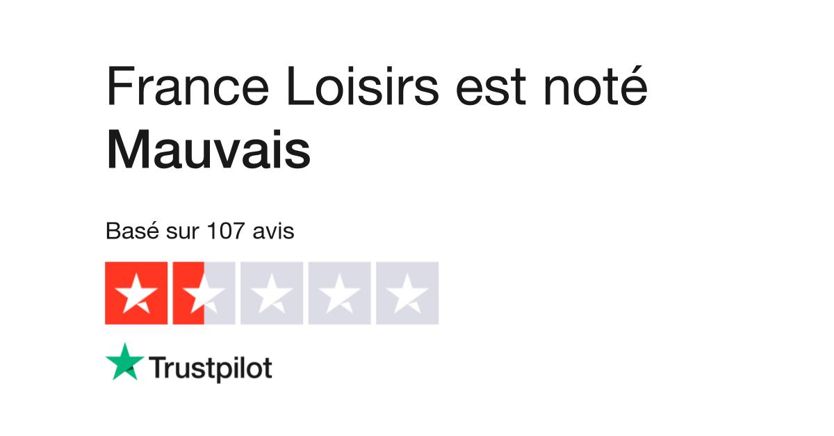 Avis De France Loisirs Lisez Les Avis Clients De Www