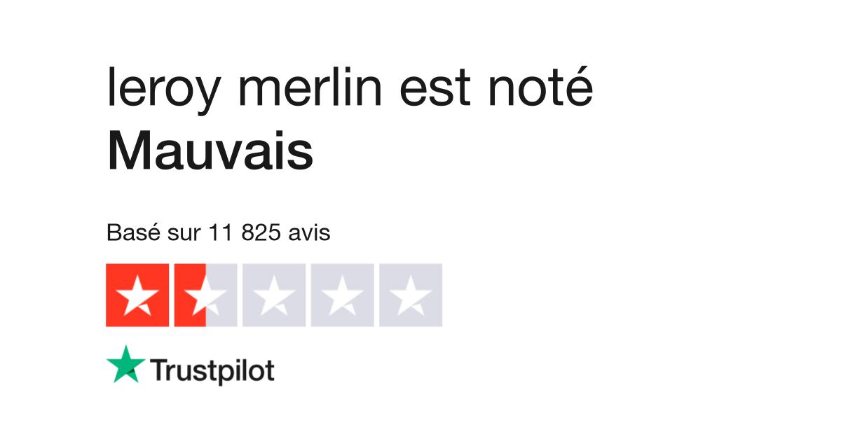 630ca3d47f50f6 Avis de leroy merlin | Lisez les avis clients de www.leroymerlin.fr | 2 sur  53