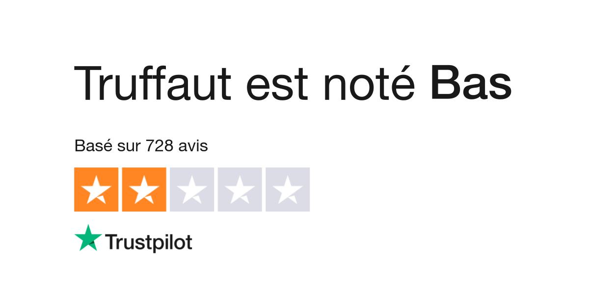 Avis de Truffaut | Lisez les avis clients de www.truffaut.com