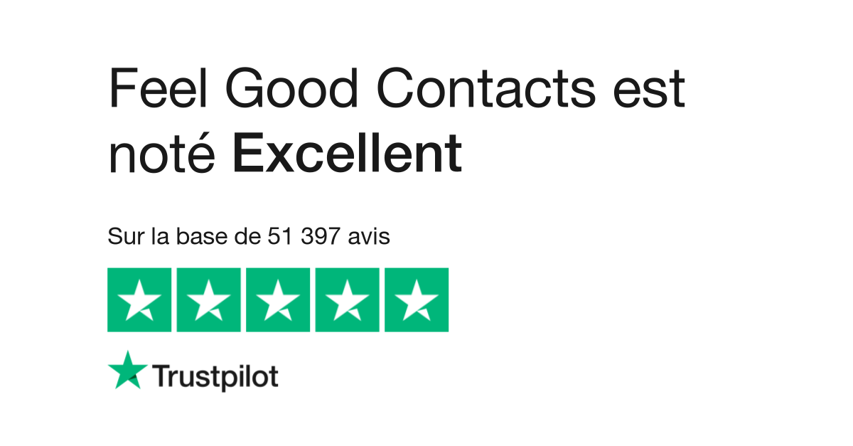 5fe15c3de5ac48 Avis de Feel Good Contacts   Lisez les avis clients de  www.feelgoodcontacts.com