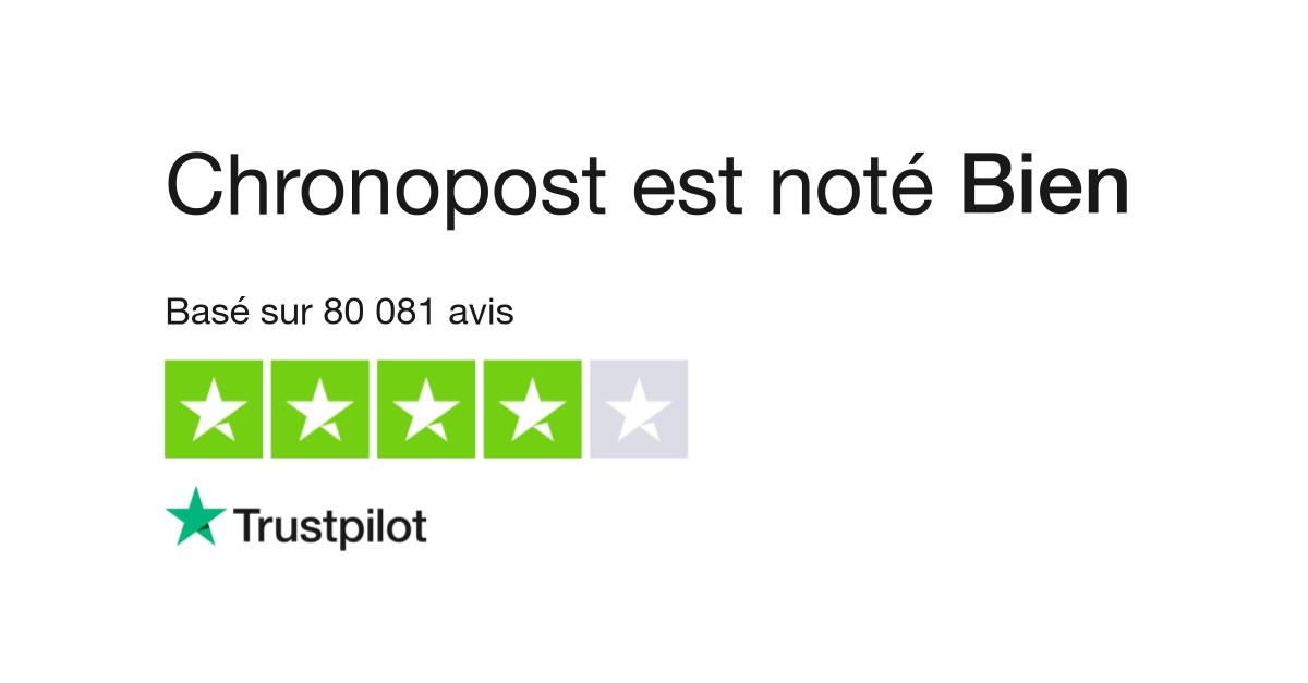 Avis De Chronopost Lisez Les Avis Clients De Www Chronopost Fr